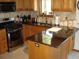Slate Kitchen Countertops Granite Countertop Apron Front Sink Cabinet Slate Tile