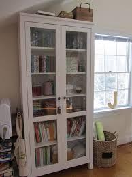 Ikea Hemnes Bookcase White Ikea Hemnes Bookcase Glass Doors Roselawnlutheran
