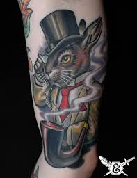 put a spring in your step with rabbit tattoos tattoo articles
