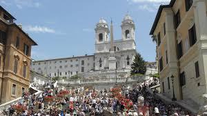 spanische treppe in rom rom die ersten eindrücke