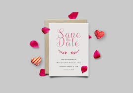 save the date cards free save the date invitation card mockup psd graphicsfuel
