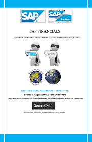 sap financials implementation and configuration demo project includin u2026