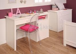 bureau blanc fille bureau blanc pour fille visuel 4