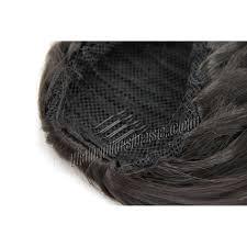 grey hair drawstring ponytail 14 inch simple but effective drawstring human hair ponytail curly