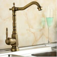 brass kitchen faucets tuqiu home improvement accessories antique brass kitchen faucet