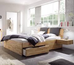 Schlafzimmer Komplett Bett 180x200 Hasena Function U0026 Komfort Bett Mit Bettkasten Und Schubladen Kernbuche