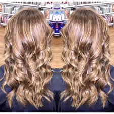 ash blonde level 7 blonde baby lights highlights lowlights by