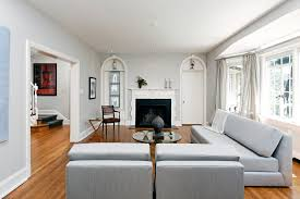 behr gentle rain living room traditional with grey wall modern