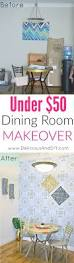 dining room final reveal delicious and diy diy budget friendly dining room makeover dining room reveal removable wallpaper diy wallpaper