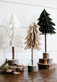 corner christmas tree rustic felt christmas trees the creative corner 76 diy craft