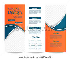 tri fold brochure template cuisine restaurant u0026 catering brochure