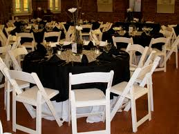 folding chair covers rental king party rentals linens