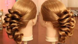 pretty awesome new hairstyle for weddings and parties video