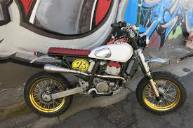 see see motorcycles dr200 i reckon the suzi could do with some