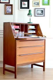modern bureau vintage style teak bureau cabinet delivery modern mid