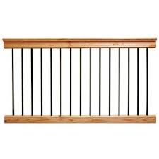 interior railings home depot wood railing lacassecolonial wood spindles for interior railings