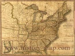 Eastern Us Map Eastern Us Canals And Railroads