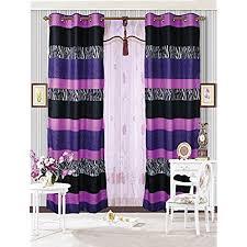 Pink And Purple Curtains Pink And Purple Curtains Amazon Com