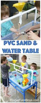 water table for 1 year old how to make a pvc pipe sand and water table water tables pvc pipe