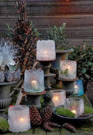Outdoor Christmas Decorations Candles by Best Outdoor Christmas Decorations Ideas All About Christmas