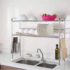 Kitchen Storage Shelves by Best 25 Dish Racks Ideas On Pinterest Closet Store Kitchen