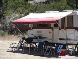 Trailer Awning Shademaker Supreme Tent Trailer Awning Popupbackpacker Com