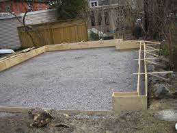 Plans For Garages by Garage Slab 20 U0027 X 20 U0027 Edge Concerns Concrete U0026 Paving