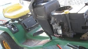 john deere stx38 clutch steering and deck repairs youtube
