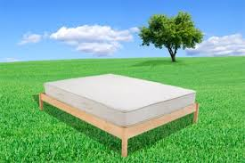 Flat Platform Bed Frame by B Flat Urban Retreat Natural Chemical Free Wood Platform Bed