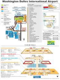 Atlanta International Airport Map by Washington Dulles International Airport Map