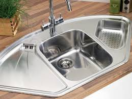 Kitchen Corner Sinks Stainless Steel by Kitchen Sink Dimensions Size Of A Sink Costa Maresme Com Image