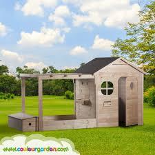 maisonnette de jardin enfant maison enfant couleur garden
