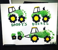 wild about dad handprint canvas crafty morning