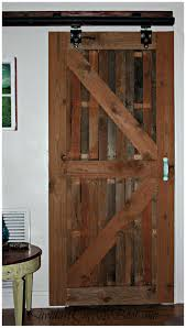 How To Build A Interior Door Thrilling Sliding Barn Door Console Barn Door Style Interior Doors