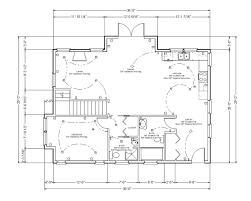 floor plans with measurements residential house floor plan with dimensions home deco plans