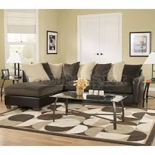Cheap Sectional Living Room Sets Living Room Vivanne Chocolate Sectional Living Room Set