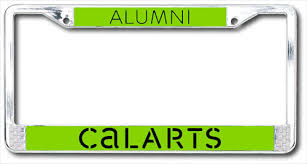 uc berkeley alumni license plate calarts store