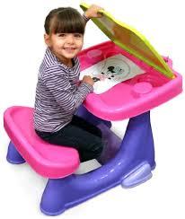 bureau plastique enfant minnie cdim010 ameublement et décoration bureau d activités