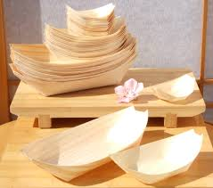 canap large bamboo wood boats large standard mini 50 100 100 for foods