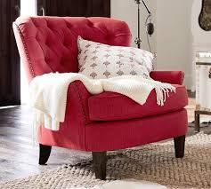 Patchwork Armchair For Sale Cardiff Tufted Upholstered Armchair Pottery Barn