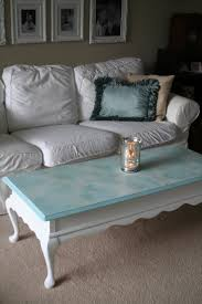 White Painted Coffee Table by For The Love Of White Chalk Paint Coffee Table Project