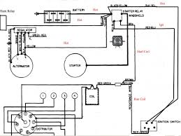 ford tractor starter solenoid wiring diagram circuit and