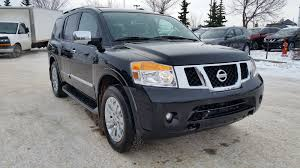 2017 nissan armada third row used armada for sale in sherwood park ab sherwood nissan
