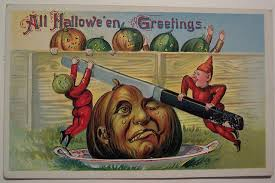 halloween greeting cards 20 cute and creepy vintage halloween cards mental floss
