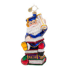 graduation ornaments radko ornaments smarty graduation christmas ornament