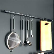 ustensile cuisine inox accroche ustensiles de cuisine barre pour ustensile de cuisine