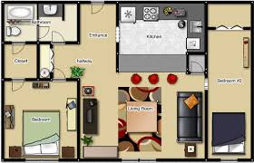 two bedroom house floor plans modern 2 bedroom apartment floor plans shoise