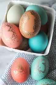 metallic easter eggs easter archives girl inspired
