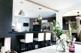 sejour ouvert sur cuisine cuisine ouverte moderne idées décoration intérieure farik us