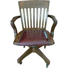 Antique Desk Chairs Wood Swivel Desk Chair Chair Design And Ideas